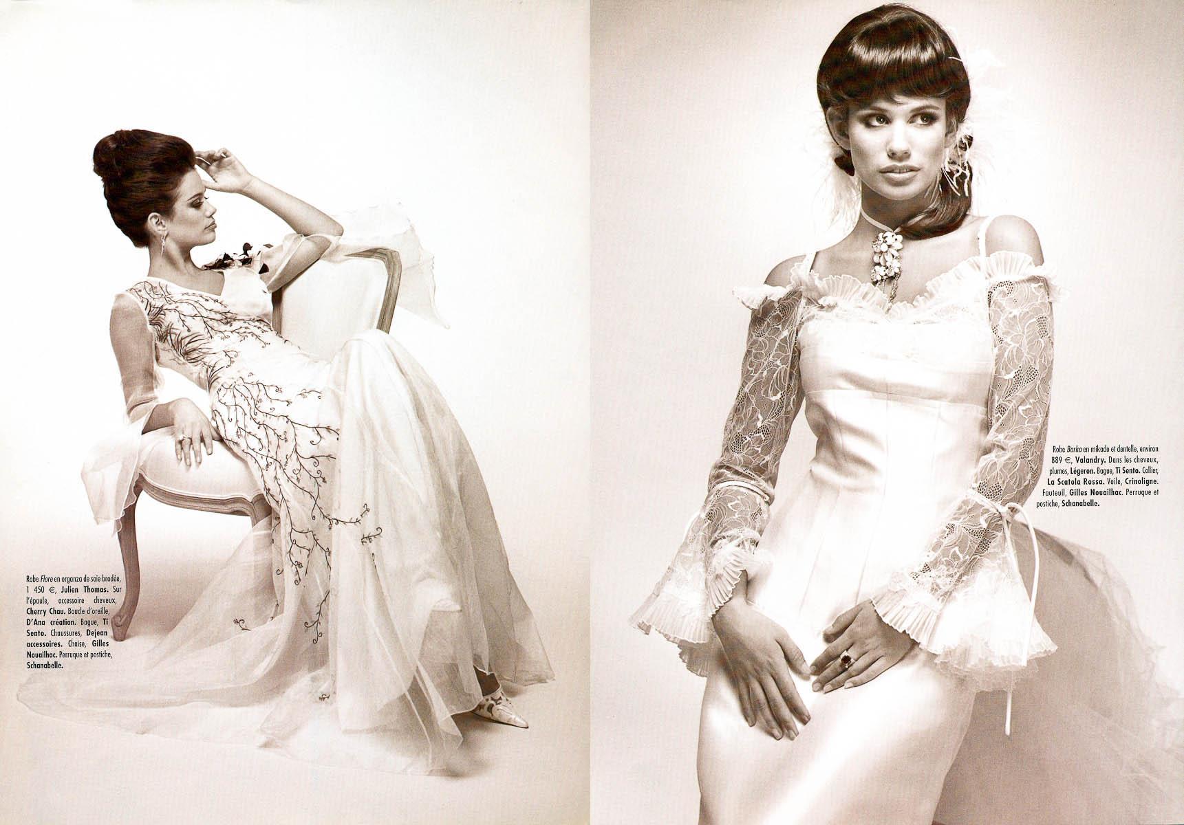 Sélectionnée par Marions Nous pour des photos de mode