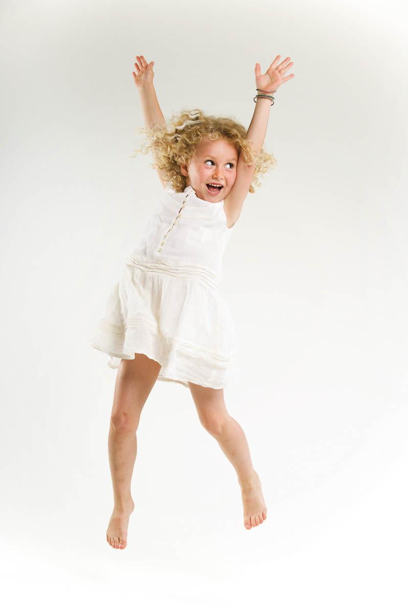photographe d'enfant en studio