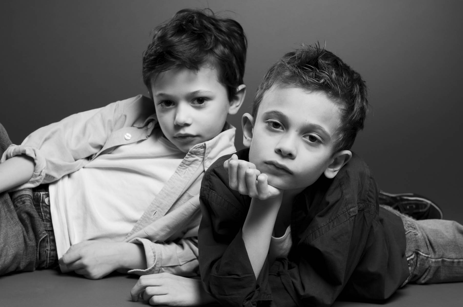 photographe d'enfant en studio