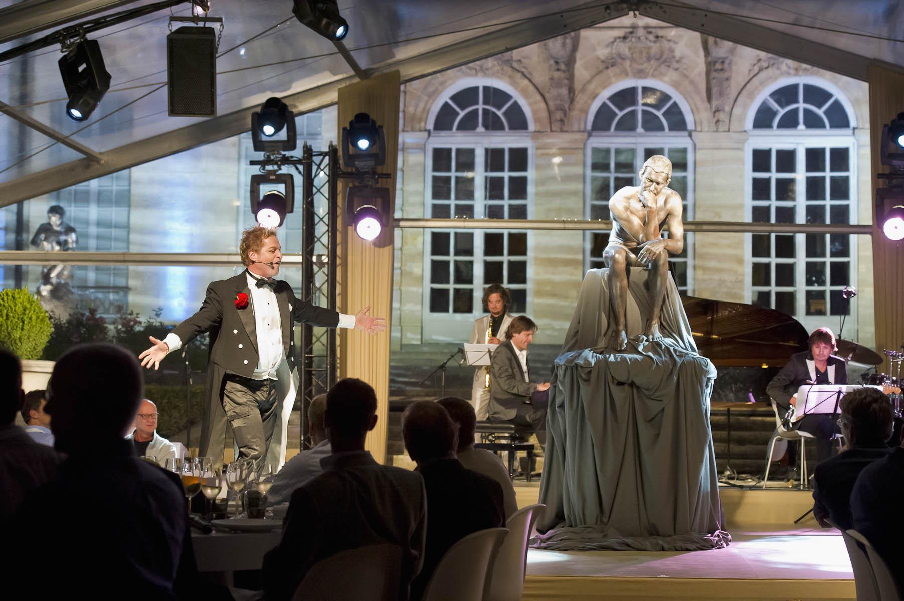 Photographe de l'événementiel au Musée Rodin