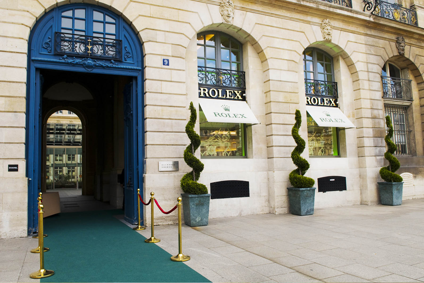 Photographe de l'événementiel Place Vendôme pour Roleix