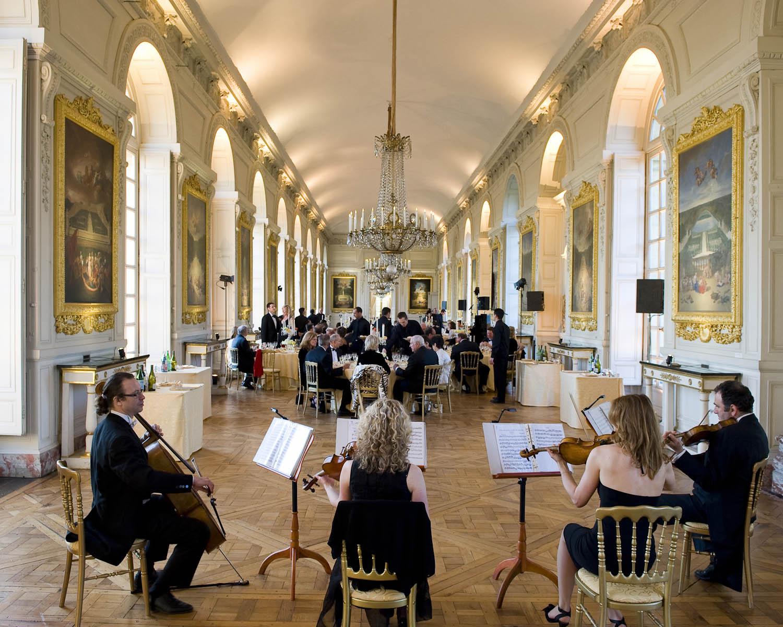 Photographe de l'événementiel au Grand Trianon - Versailles