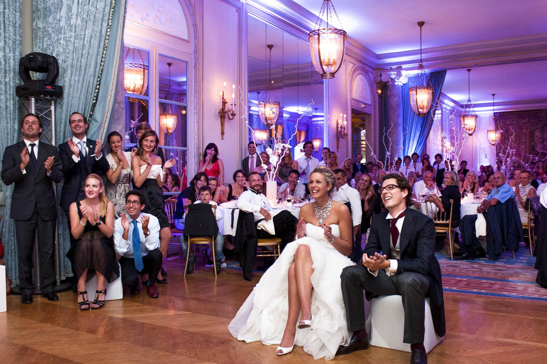 Photographe de mariage au Cercle Interallié