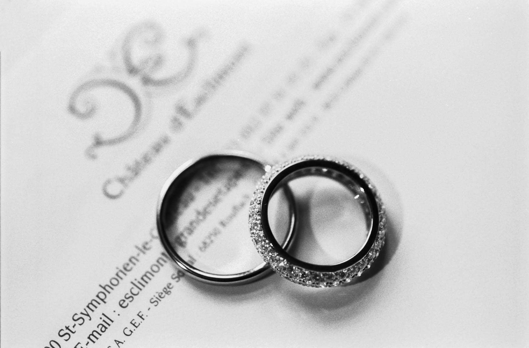 L'alliance symbole de l'union par Sofiacome, photographe de mariage