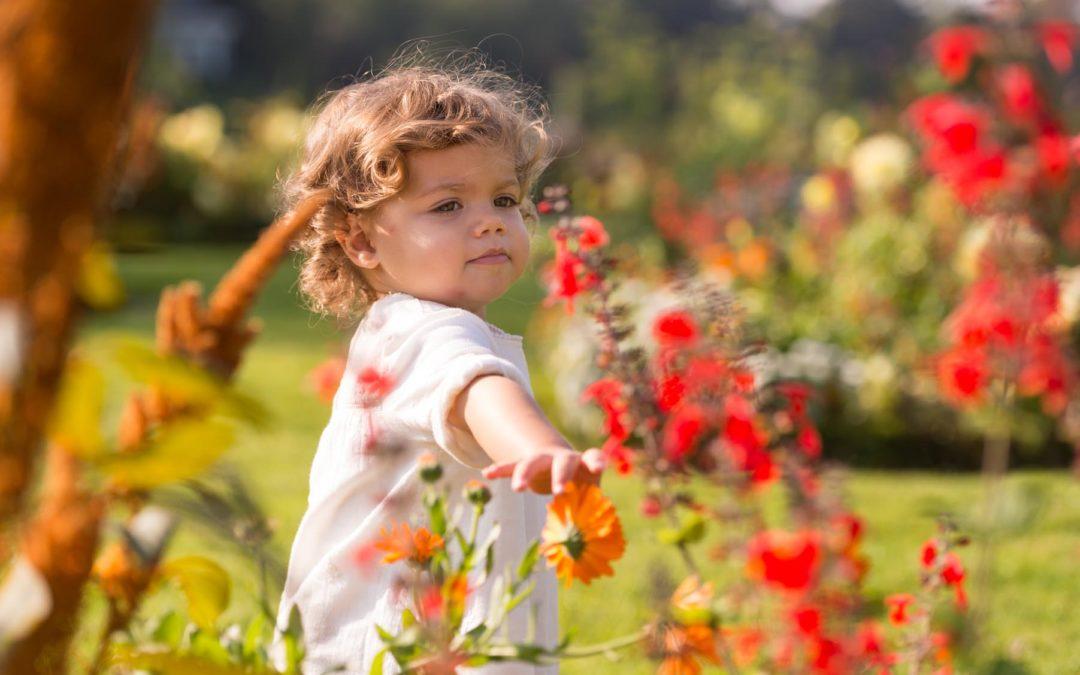 Photographe d'enfant à Bagatelle