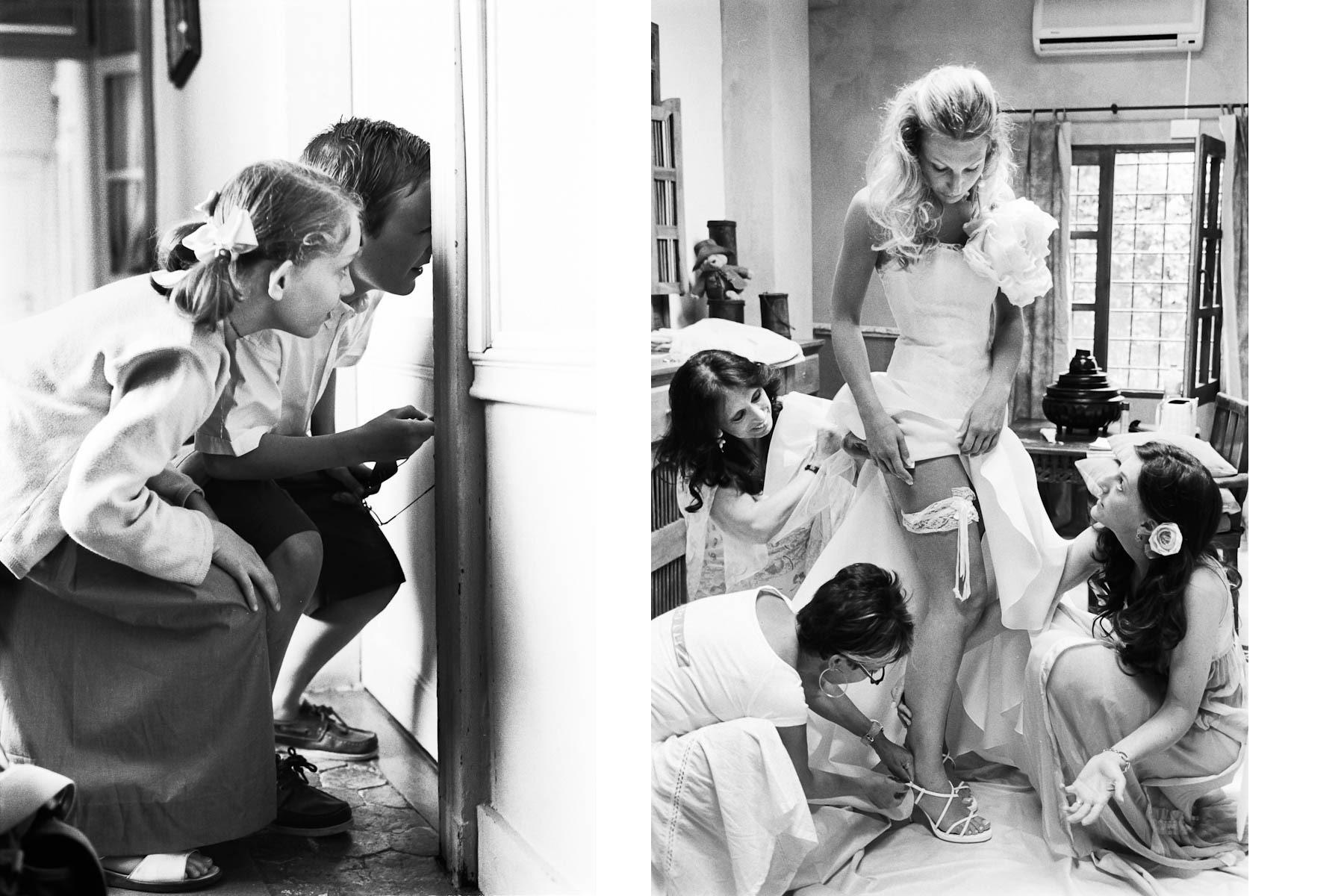 Curiosité des enfants d'honneur par Sofiacome, photographe de mariage