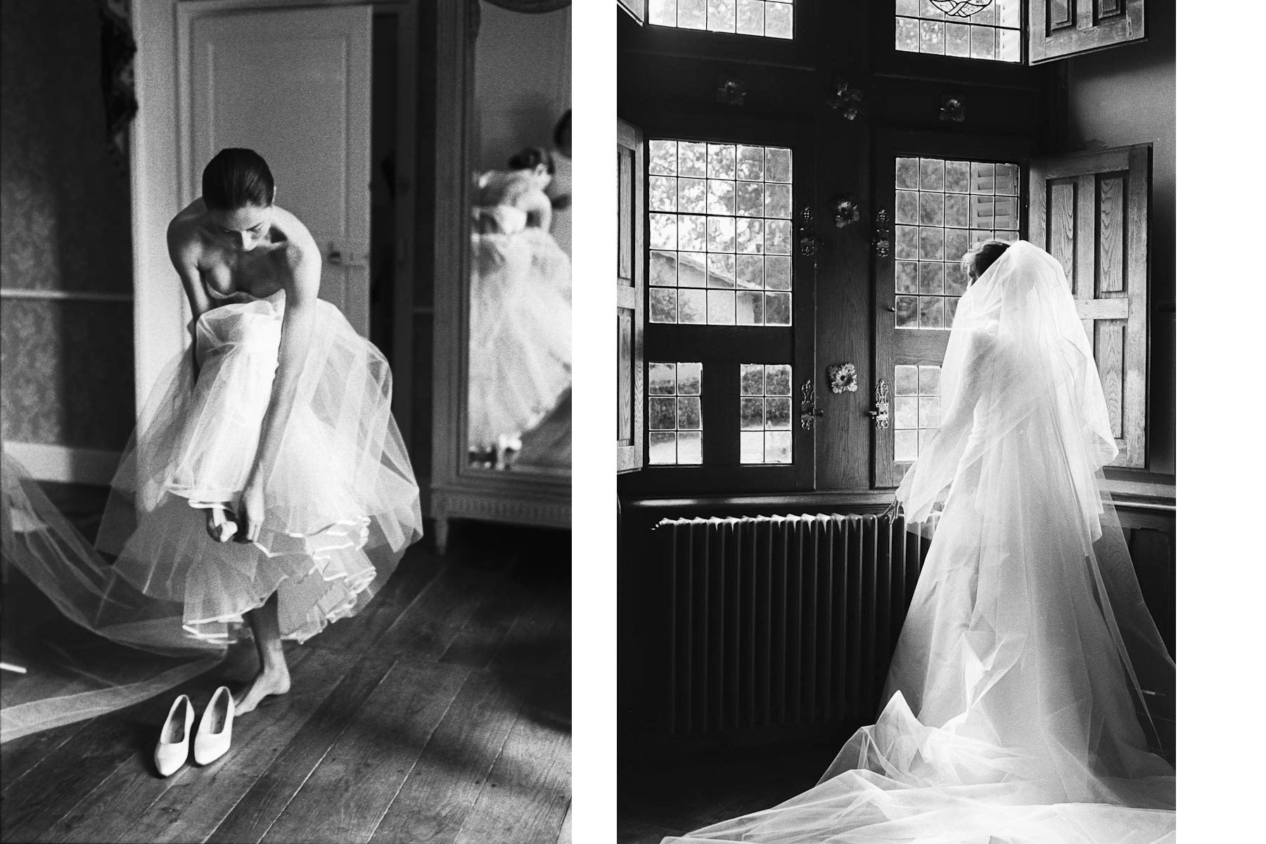 Habillage des mariés