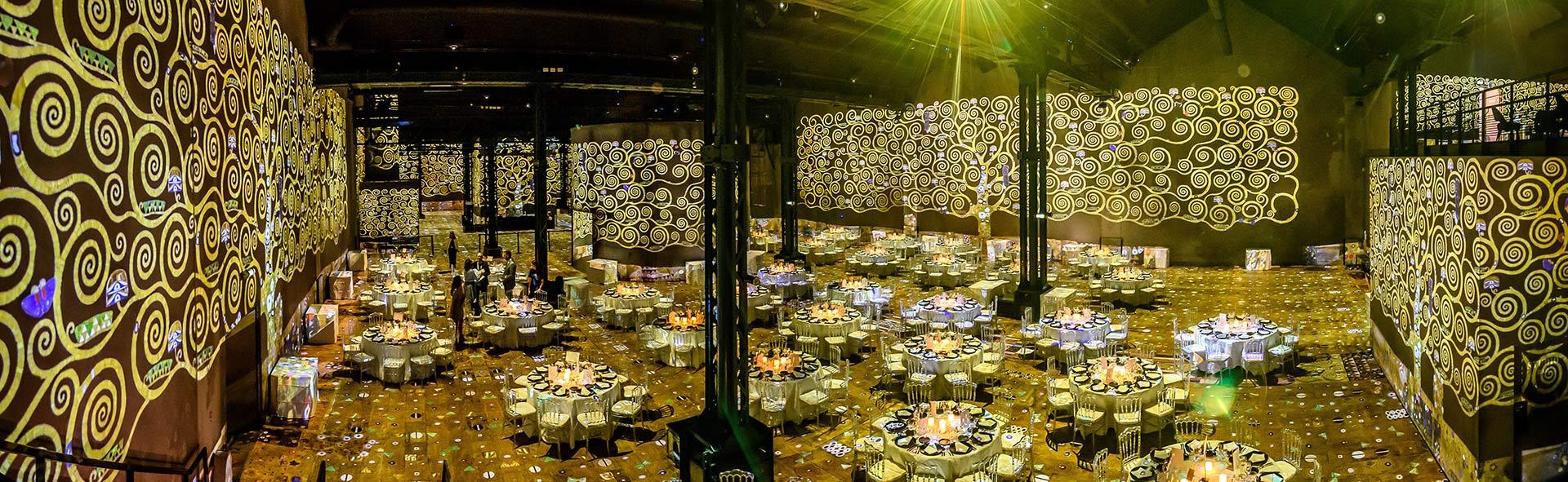 Photographe de L'Atelier des Lumières - Exposition Klimt